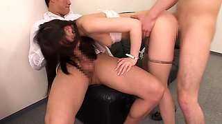 Saya Niiyama in Office Lady Train part 2.1