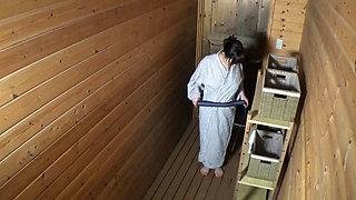 Busty MILF fucked In Japanese Onsen Spa