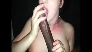 14 inch dick gets some lovin'
