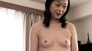 Small titted Asian deep nub and ass fuck