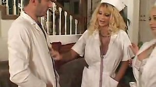 Horny Big Tit Nurse Drilled
