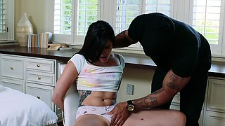 TLBC-  Submissive Teen Dominated By Two Huge Cocks
