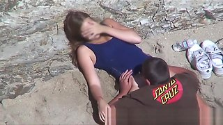 Hidden cam videos of amateur couples fucking on the beach
