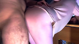 Perfect Ass Teen Gets Fucked On The Table - Ezik01