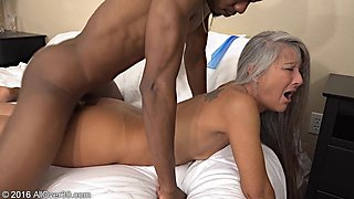 He loves to feel the vaginas of older woman