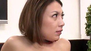 Crazy Japanese slut Mako Oda in Hottest Secretary, Gangbang JAV video