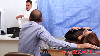 Sexmex Pecosa Inseminated By The Doctor