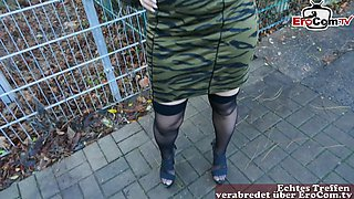 german turkish housewife milf public pick up for gonzo date pov