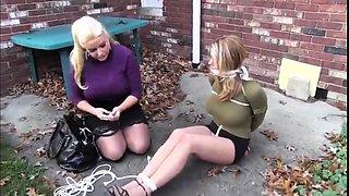 Blonde Sex Slave bdsm bondage slave femdom domination