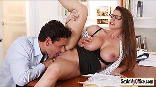 Brunette secretary Brooklyn orgasms
