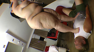 Russian SSBBW Monster Butt Crushing Man [Ultimate Black Man Kryptonite] 1080p