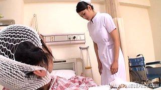 Good Nurse Sucks Her Needy Patient