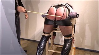 Crossdresser punished