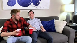 FamilyDick -  Teen Step Brother Barebacked By Hung Older Bro