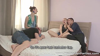 Young Sex Parties - Hot sex party for two couples