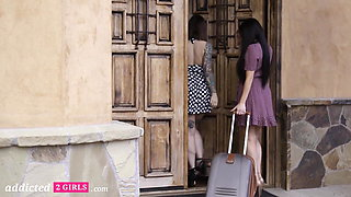 Addicted2Girls - Busty Ivy Lebelle Eats Out Her Stepsister