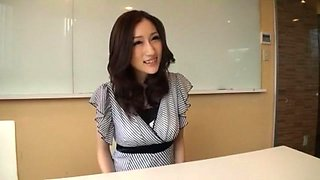 Fabulous Japanese model Julia in Incredible Big Tits, Striptease JAV clip