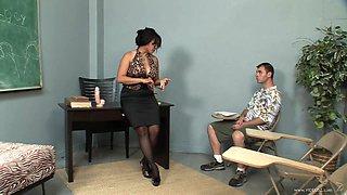 After School Sex With A Smoking Hot Teacher