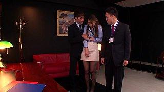 Nao Yoshizaki in Sex Slave Office Lady part 1.1