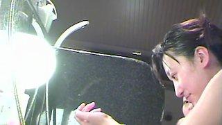 Asian girls showering bodies in the shower spy cam video dvd 03006