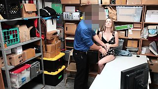 Shoplyfter - Hot Pregnant Teen Fucked For Stealing