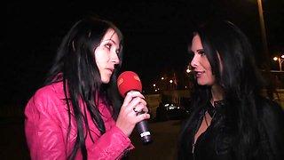 Meli Deluxe & Xania Wet in German Cougars Public Berlin - MagmaFilm