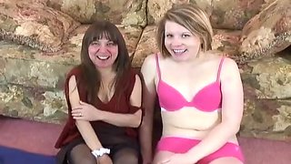 Lesbian Amateurs Make Erotic Love On Camera