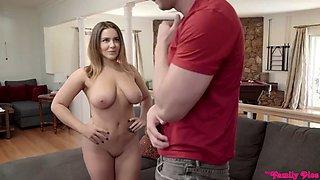Big tits sister