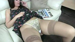 Upskirt hairy pussy