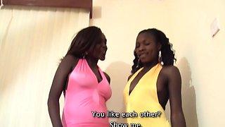 African babes sharing euro big dick