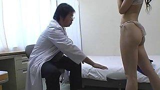 Schoolgirl med exam