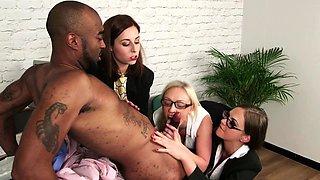 Office cfnm mistresses