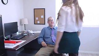 Busty Hottie Lena Paul Gets Fucked By Her Office