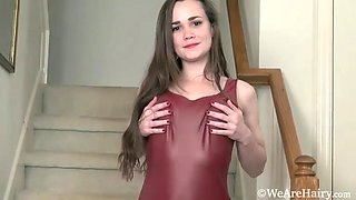 Kelly Morgan has fun stripping naked - Compilation - WeAreHairy