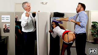 Aubrey Rose & Chad White in Bosses Daughter - RealityKings