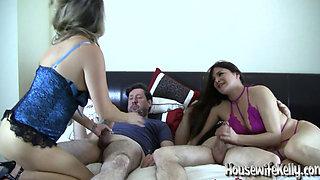 Homemade foursome swinging video 1