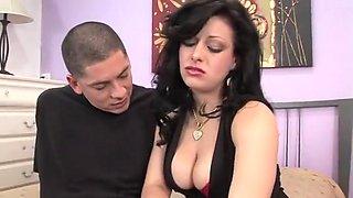 Exotic pornstar Angelica Raven in best cumshots, cunnilingus adult clip