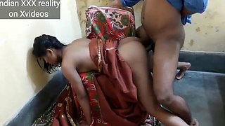 Indian Bhabhi cheating on husband with young servant