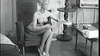 Retro Porn Archive Video: Femmes seules 1950's 01