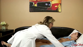 Nikki Brooks and Cory Chase in Licked my Mom till she woke up from a Coma