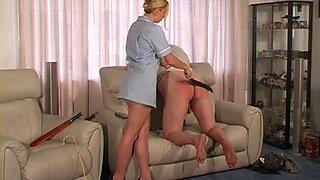 Miss Zara Disciplined Landlord