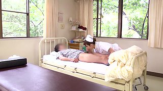 Akari Minamino, Nachi Sakaki, Yumemi Nakagawa, Yuki Aoi in Atypical Two Hole Tekoki Clinic part 1.1