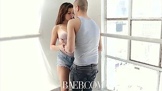 So beautiful and flexible babe Leah Gotti is making love with her boyfriend