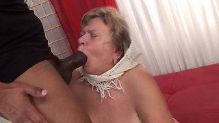 Horny pornstar in exotic facial, interracial adult movie