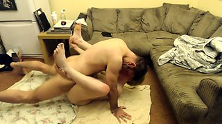 Luscious mature housewife gets pounded hard on hidden cam