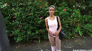 Ballerina Takes a Ride