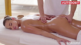 RELAXXXED Rough Massage With Hot Hungarian Teen Amirah Adara