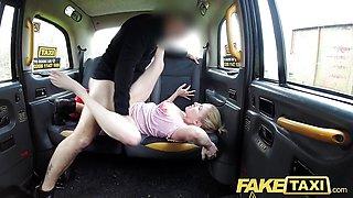 Fake Taxi Blue eyed Scottish babe loves back seat fuck