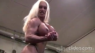 Ashlee in the gym