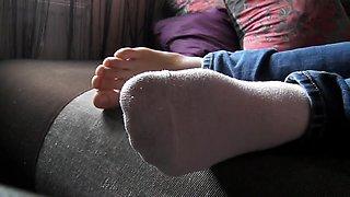 Sleeping Feet Worship 2